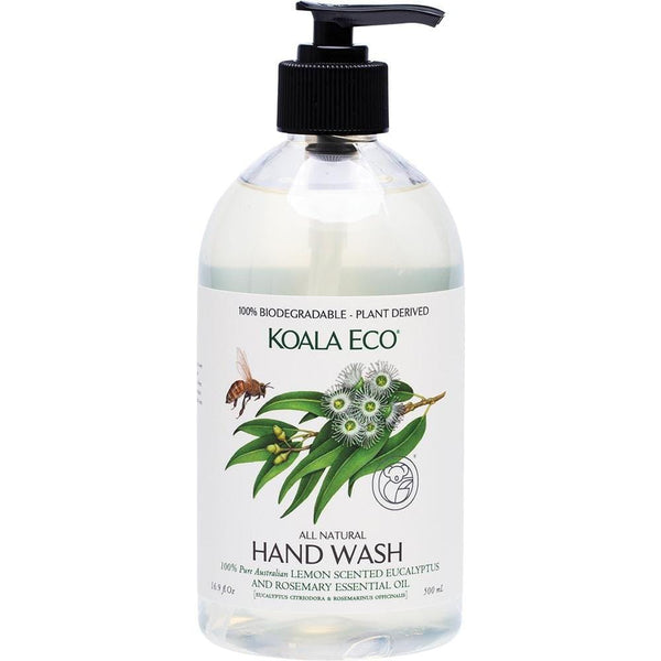 Koala Eco Hand Wash Lemon Eucalyptus & Rosemary 500ml - The Vegan Town