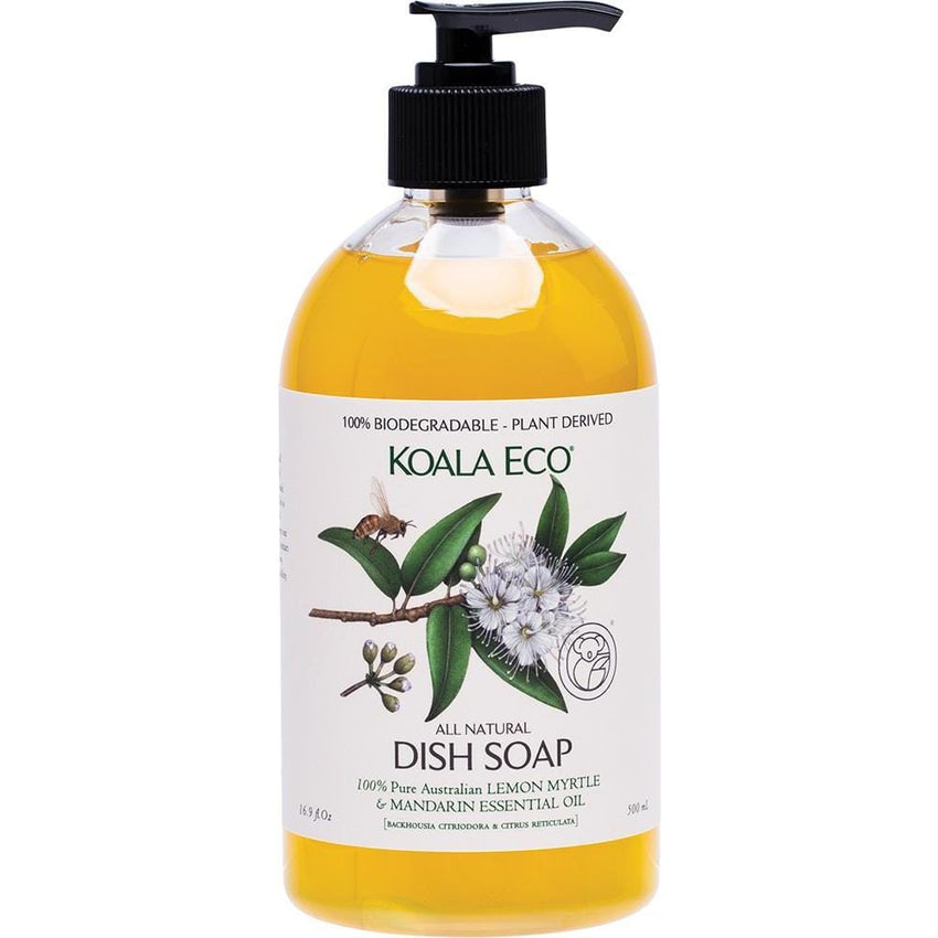 Koala Eco Dish Soap Lemon Myrtle & Mandarin 500ml