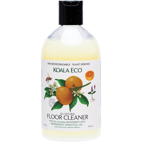 Koala Eco Floor Cleaner Mandarin & Peppermint 500ml - The Vegan Town