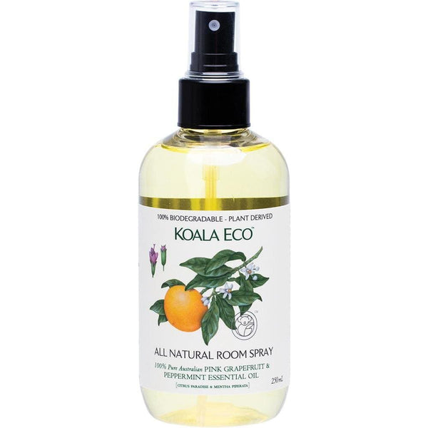 Koala Eco Room Spray Pink Grapefruit & Peppermint 250ml - The Vegan Town