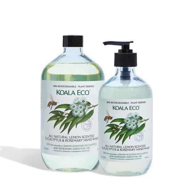 Koala Eco Hand Wash Lemon Eucalyptus & Rosemary 1lt