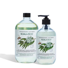 Koala Eco Hand Wash Lemon Eucalyptus & Rosemary 1lt - The Vegan Town