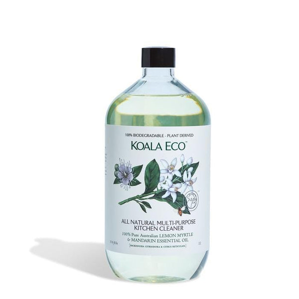 Koala Eco Multi-purpose Kitchen Cleaner Lemon Myrtle & Mandarin 1lt