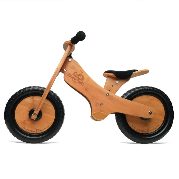 Kinderfeet Bamboo Balance Bike | Eco Wooden Toys | Educational Toys - The Vegan Town