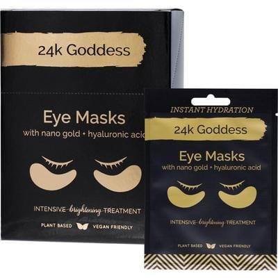 24K Goddess Active Gold Eye Masks - Vegan beauty products online