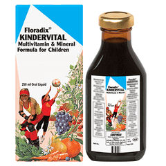 Floradix Kindervital Multivitamin for Children 250ml | Vegan Kids