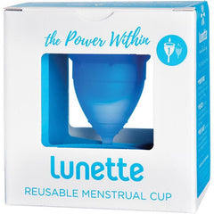 Lunette Reusable Menstrual Cup (Model 1) - For Light to Normal Flow - various colours available