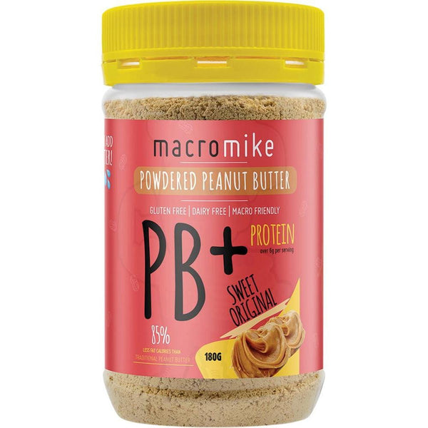 Powdered Peanut Butter 180g in various flavours - The Vegan Town