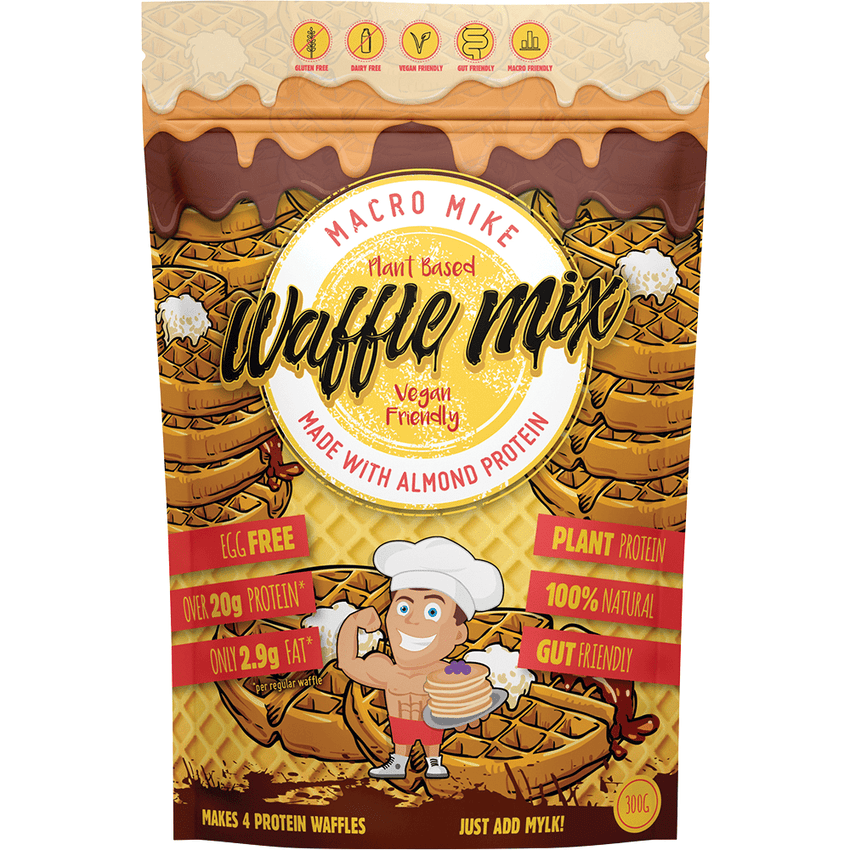 Macro Mike Almond Protein Waffle Baking Mix 300g