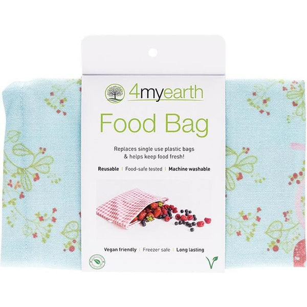 4myearth Food Bag 25x20cm - The Vegan Town