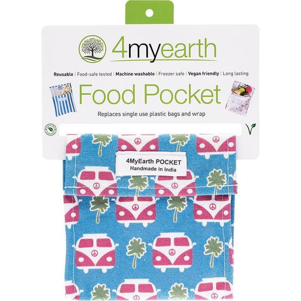 4myearth Food Pockets 14x14cm - vegan online store