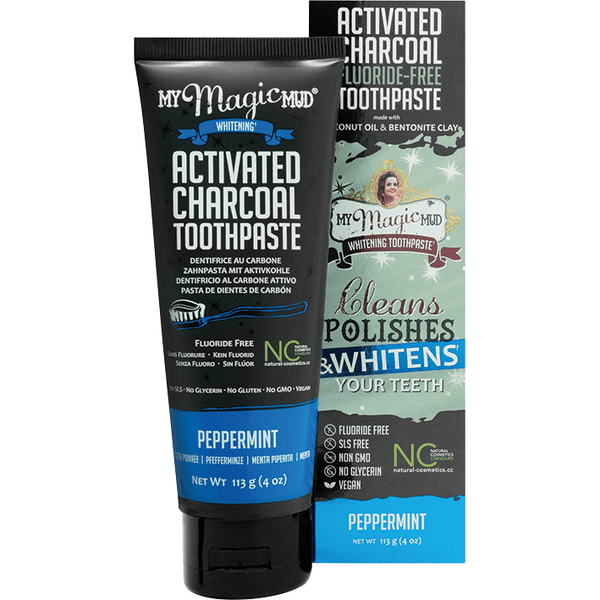 My Magic Mud Whitening Toothpaste - variety of flavours available 113g