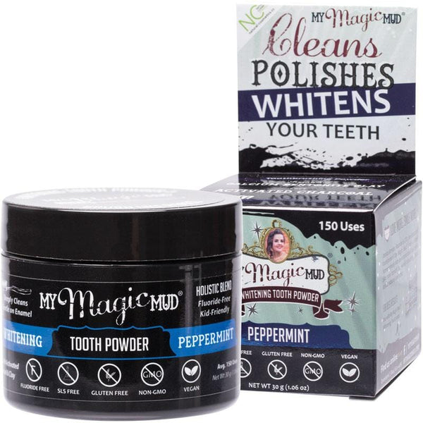 My Magic Mud Whitening Tooth Powder - various flavours available 30g