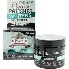 My Magic Mud Whitening Tooth Powder - various flavours available 30g - The Vegan Town