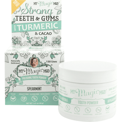 My Magic Mud Polishing Tooth Powder - variety of flavours available 40g