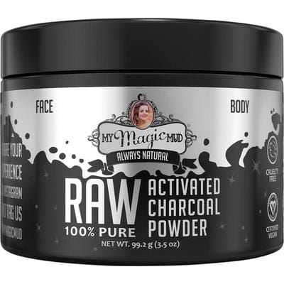 My Magic Mud Activated Charcoal Powerful Detoxing Powder 99.2g - The Vegan Town