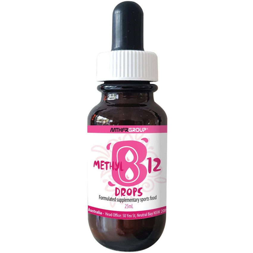 MTHFR Group B12 100mcg Drops 25ml - The Vegan Town