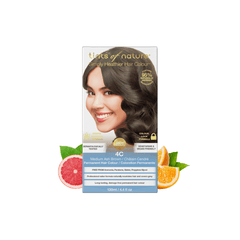 4C Medium Ash Brown Permanent Hair Dye | Vegan Hair Dye | Vegan Beauty Online - The Vegan Town