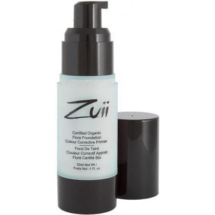 Zuii Organic Colour Corrective Foundation Primer 30ml Mint Reduces Redness