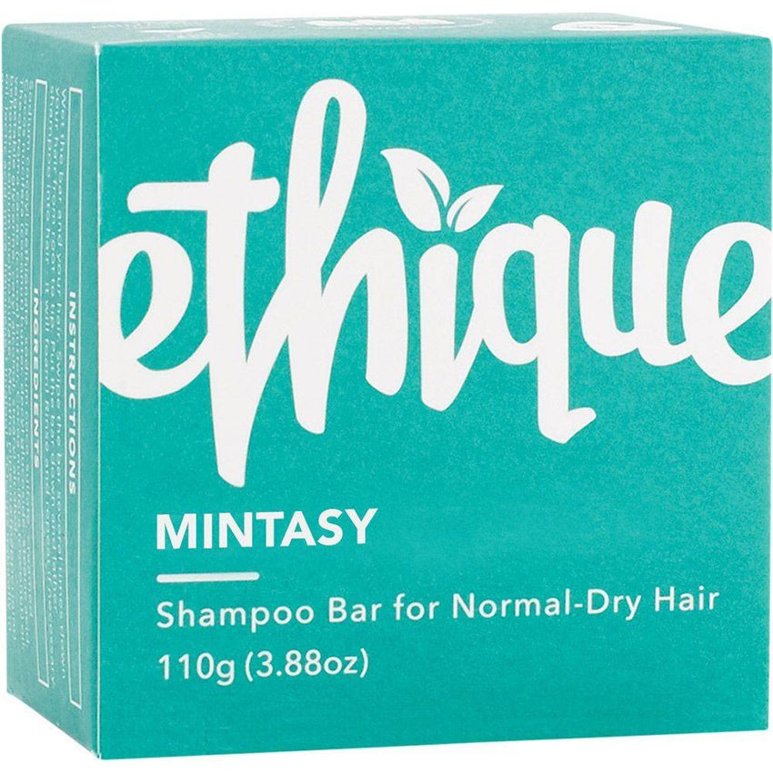 Ethique Solid Shampoo Bar Mintasy - Normal To Dry Hair 110g - The Vegan Town