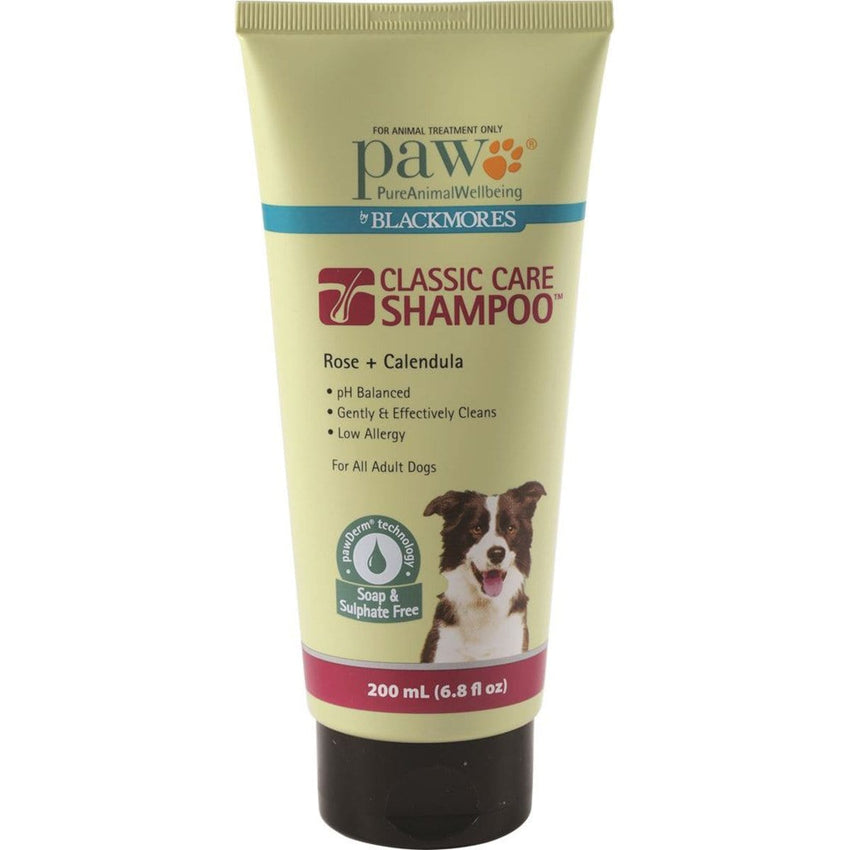 PAW By Blackmores Classic Care Shampoo (Rose + Calendula) 200ml - The Vegan Town