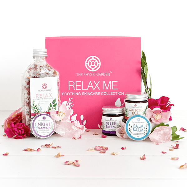 Physic Garden Relax Skincare Collection Gift Pack