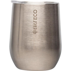 Ever Eco Insulated Tumbler 354ml Brushed Stainless Silver
