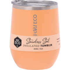 Ever Eco Insulated Tumbler 354ml Orange | Online Vegan Store | The Vegan Town