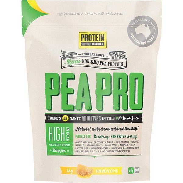 Protein Supplies Aust. PeaPro (Raw Pea Protein) Honeycomb - in various sizes