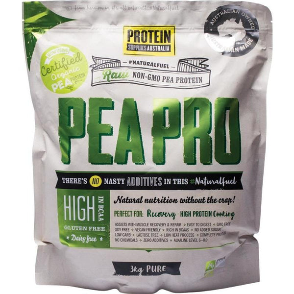 Protein Supplies Aust. PeaPro (Raw Pea Protein) PURE - in various sizes