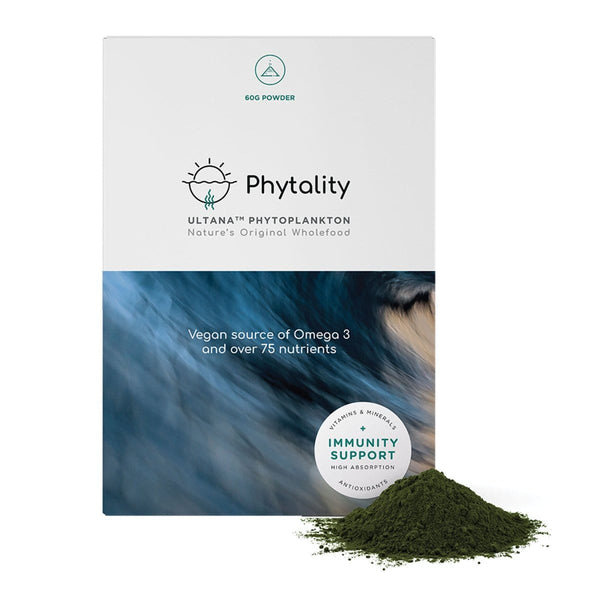Phytality Nutrition Ultana Phytoplankton 60g powder | Vegan Supplement | The Vegan Town