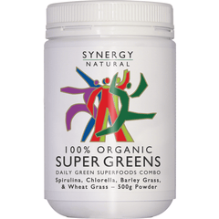 Synergy Organic Super Greens Powder 500g | Vegan Online Store