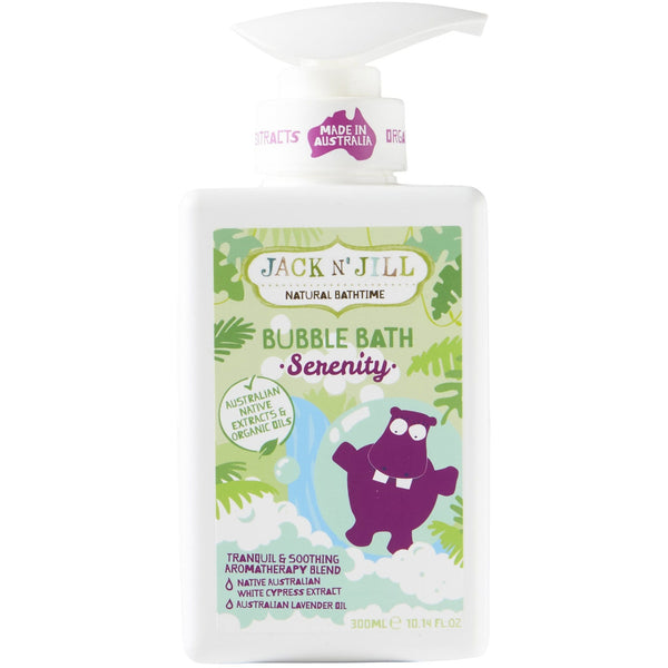 Jack N' Jill 300ml Serenity Natural Bubble Bath - The Vegan Town