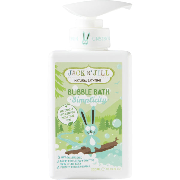 Jack N' Jill 300ml Simplicity Natural Bubble Bath - The Vegan Town