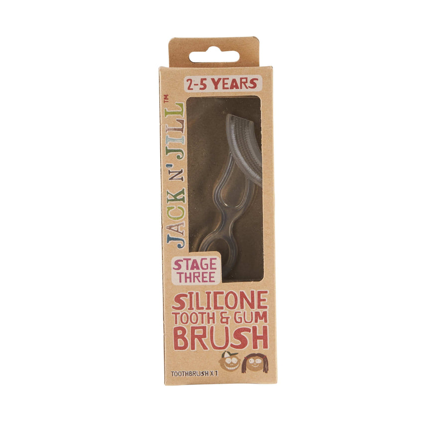 Jack N' Jill Silicone Tooth & Gum Brush - The Vegan Town