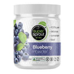 Super Sprout Blueberry Powder 150g | Vegan Online Store