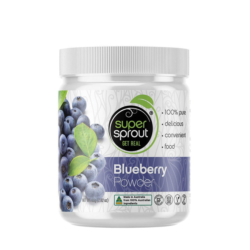 Super Sprout Blueberry Powder 80g | Vegan Online Store