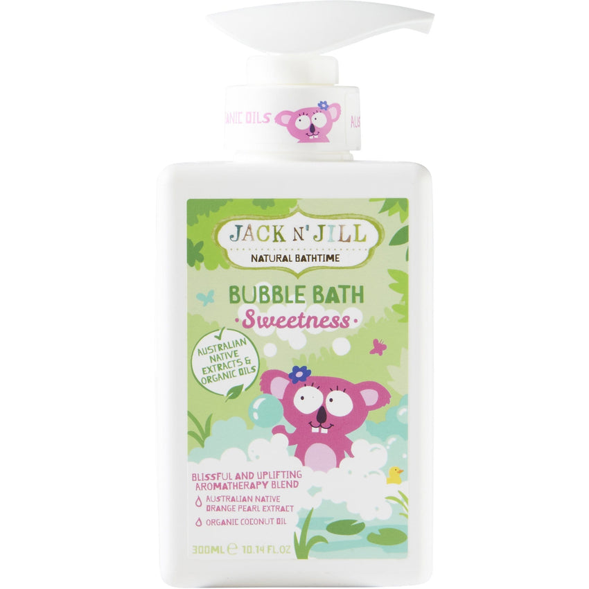 Jack N' Jill 300ml Sweetness Natural Bubble Bath - The Vegan Town