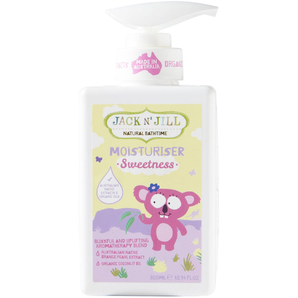 Jack N' Jill 300ml Sweetness Natural Moisturiser