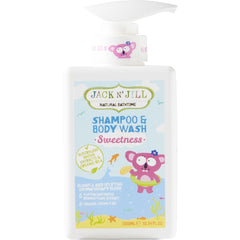 Jack N' Jill 300ml Sweetness Natural Shampoo & Body Wash - The Vegan Town