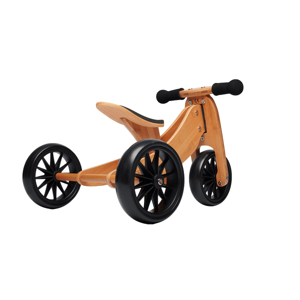 Kinderfeet Bamboo Trike - Tiny Tot Plus | Eco Wooden Toys - The Vegan Town
