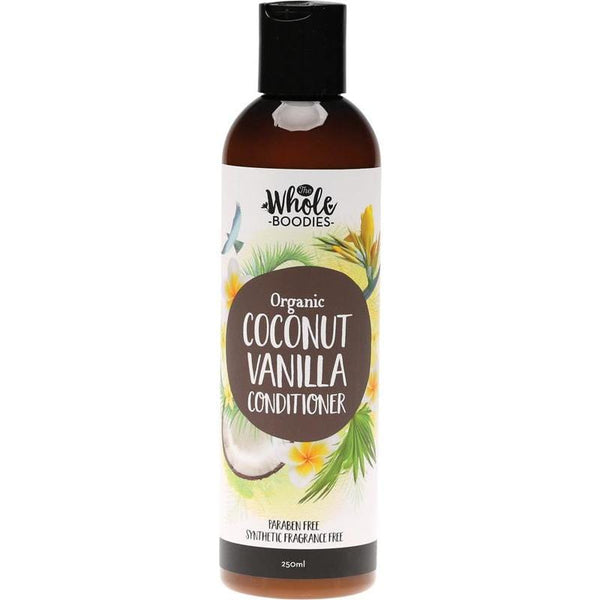 The Whole Boodies Coconut Vanilla Conditioner 250ml