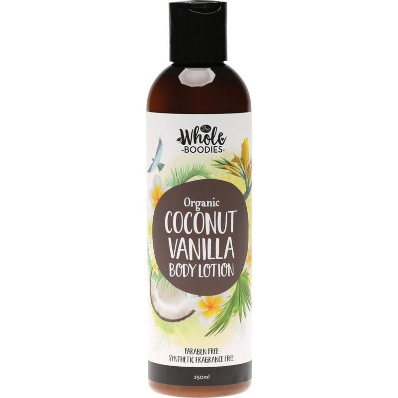 The Whole Boodies Coconut Body Lotion 250ml - The Vegan Town