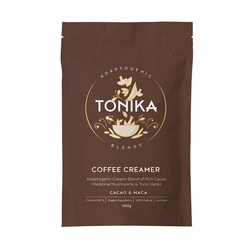 Tonika Coffee Creamer Cacao and Maca 200g - The Vegan Town