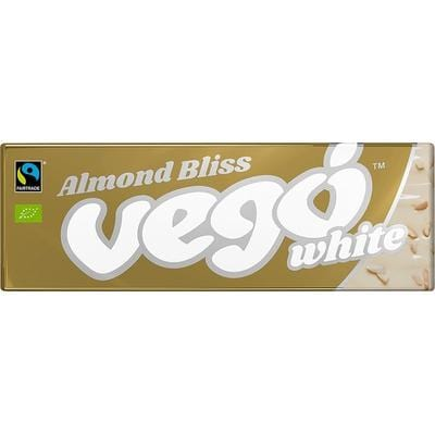 Vego White Chocolate Bar 50g Almond Bliss - The Vegan Town