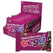 Vego Dark Chocolate Bar Nuts & Berries 85g - The Vegan Town