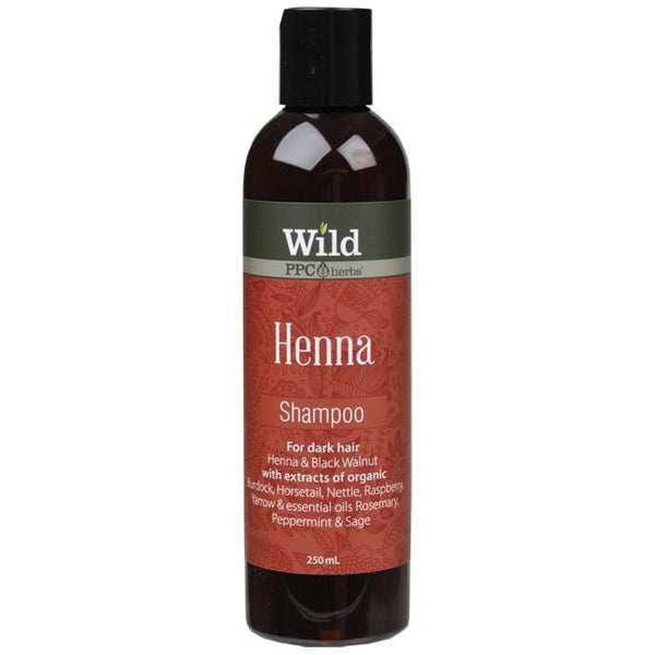 Wild Shampoo - Henna 250ml - The Vegan Town