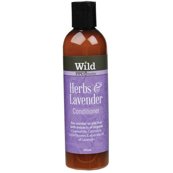 Wild Conditioner - Herbs & Lavender 250ml - The Vegan Town