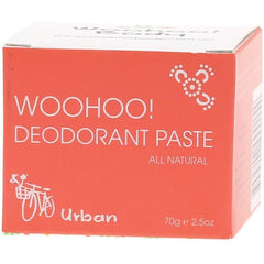 Woohoo Body Urban Deodorant Paste 70g - The Vegan Town