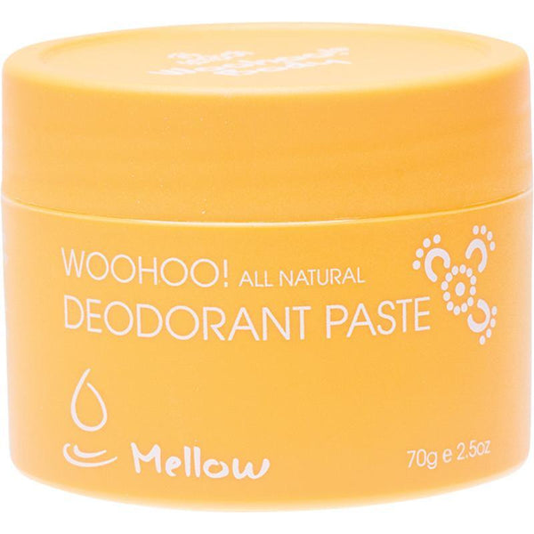 Woohoo Body Mellow Deodorant Paste 70g - The Vegan Town